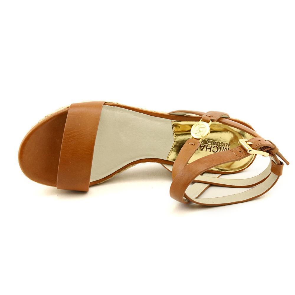 Michael Kors Women's 'Jalita Charm Sandal ' Leather Sandals
