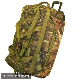 Explorer 22-inch Mossy Oak Carry-on Rolling Upright Duffel Bag
