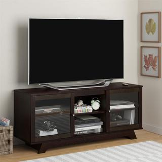 Ameriwood Home Englewood Espresso TV Stand for TVs up to 55 inches