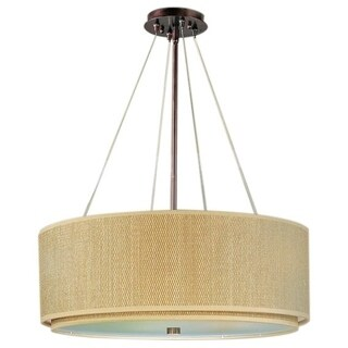 Elements Oil-rubbed Bronze Single-light Pendant