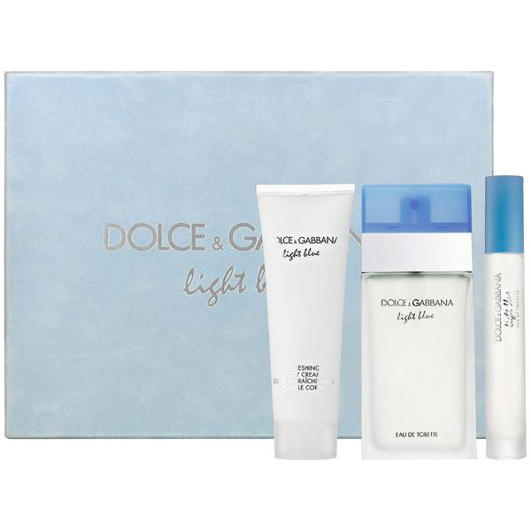 Shop Dolce   Gabbana Light Blue Women s 3-piece Fragrance Set - Free  Shipping Today - Overstock - 9643078 61278bc690