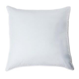 European Heritage Down Opulence Medium Firm White Goose Down European Square Pillow