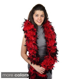 Chandelle Tipped Feather Boa