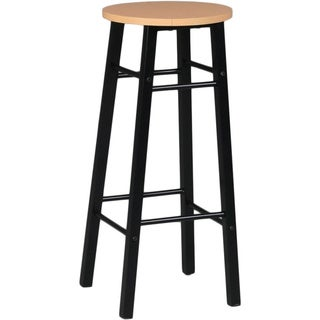 Martin Studio Stool with Woodgrain Top– Drafting Height