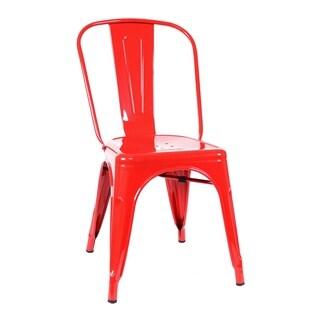 Tabouret Lemon Metal Stacking Chairs Set Of 4 14366704