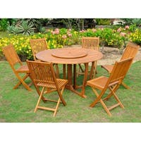 International Caravan Royal Tahiti 'Toledo' 8-piece Patio Dining Set