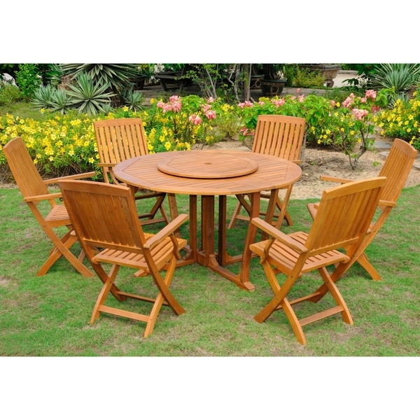 International Caravan Royal Tahiti 'Santiago' 8-piece Dining Set
