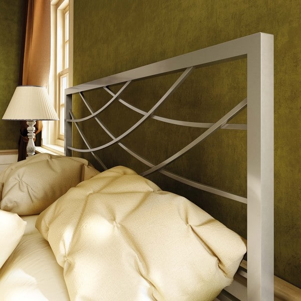Amisco Altess 60-inch Queen-size Metal Headboard
