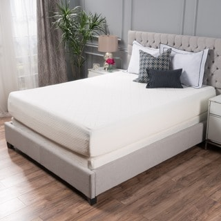 choice 12inch queensize memory foam mattress by christopher knight home - Foam Mattresses
