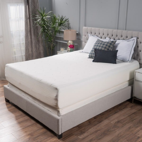 Choice 14-inch King-size Memory Foam Mattress by Christopher Knight Home - WHITE