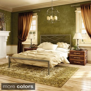 Amisco Altess 54-inch Full-size Metal Bed