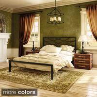 Amisco Altess 60-inch Queen-size Metal Bed  - Queen