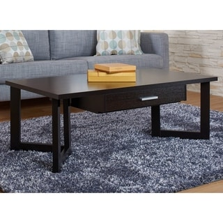 Furniture of America Veilin Modern Cappuccino Coffee Table