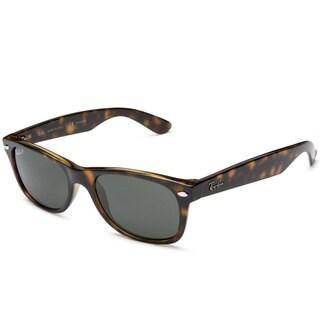 Ray-Ban RB2132 902/58 50 New Wayfarer Classic Sunglasses - Black/Brown