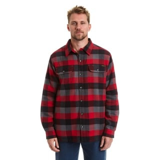 Stanley Men's Fleece Lined Flannel Shirt