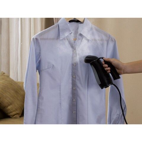 Salav TS-01 Travel 265-watt Handheld Garment Steamer with Automatic Global Voltage Adjustment
