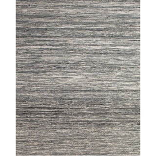Grand Bazaar Hand Woven Viscose Dabney Rug in Gray 2' x 3'