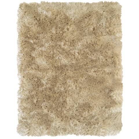 "Grand Bazaar Tufted Polyester Pile Freya Rug in Cream 2'-6"" X 6'"