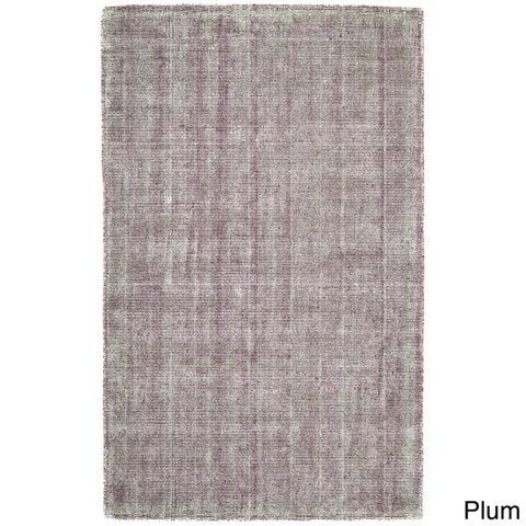 Grand Bazaar Hand Woven Viscose & Cotton Sarma Rug in Ice 5' x 8'