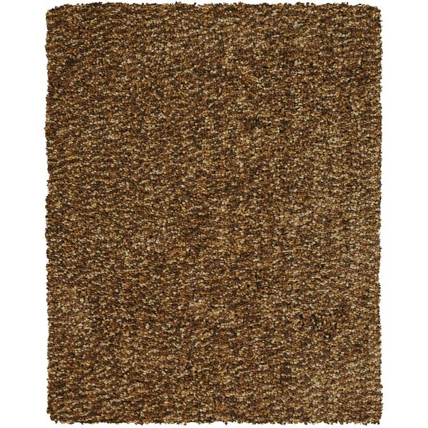 Grand Bazaar Tufted Polyester Catarina Rug in Raisin (8' x 11') - 8' x 11'