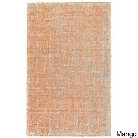 Grand Bazaar Hand Woven Viscose & Cotton Sarma Rug in Ice 9'-6 x 13'-6
