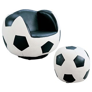2-piece All Star Soccer Youth Chair and Ottoman