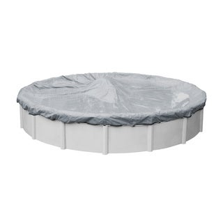 Robelle Ultra Winter Above Ground Pool Cover for Round Pools