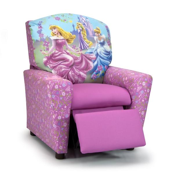 Disney Princess Armchair: Shop Disney Princess Glow Kids Recliner