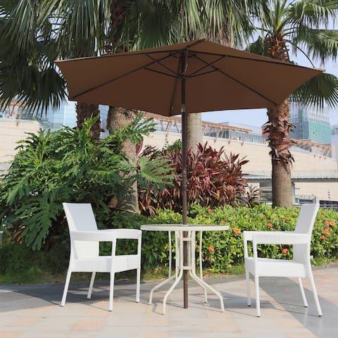 Corvus Malta 9-foot Coffee Patio Umbrella