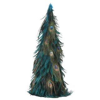 Hackle 24-inch Peacock Tree