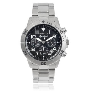 Invicta Men's 7349 'Signature II' Chronograph Tachymeter Stainless Steel Watch