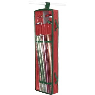 Hanging Wrapping Paper Organizer