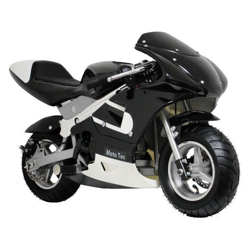 MotoTec Gas Pocket Bike (Black)