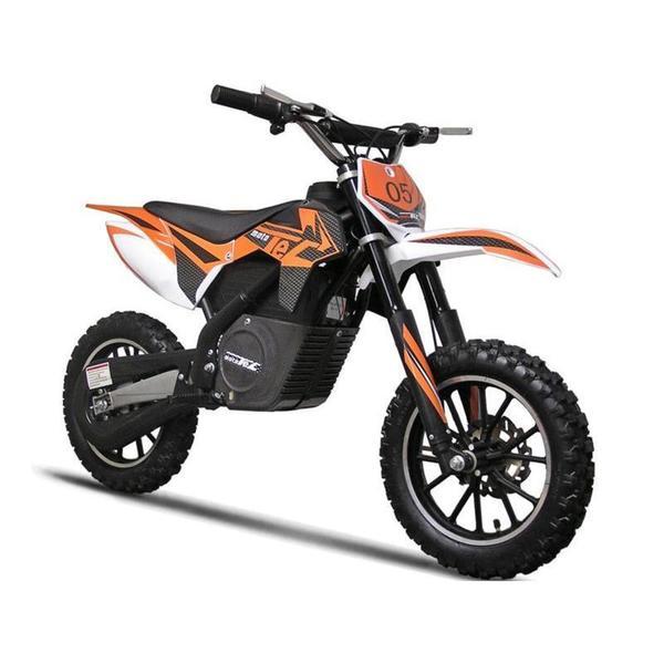 Shop MotoTec Orange 24v 500w Electric Dirt Bike - Free