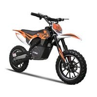 MotoTec Orange 24v 500w Electric Dirt Bike