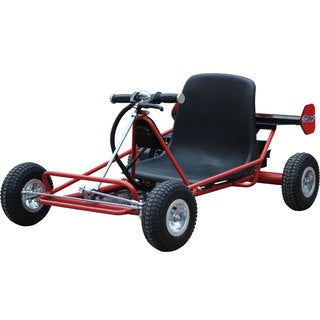 MotoTec Solar Electric Red 24v Go Kart