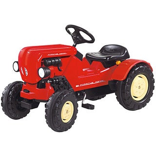 Big Porsche Diesel Junior Pedal Tractor