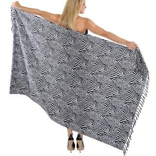 La Leela Dress Swimwear Swimsuit Wrap Beachwear Cover up Bikini Bathing Suit Shawl Skirt