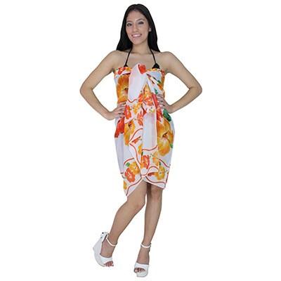 b2bbfdb8e7ae6 Shop La Leela Shawl Skirt Wrap Swimsuit Beachwear Cover up Dress Swimwear  Bikini Bathing Suit - Free Shipping On Orders Over $45 - Overstock - 9645883