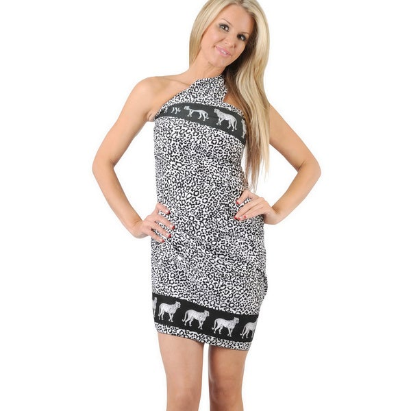a79fbefbf1363 La Leela Beachwear Cover up Wrap Swimsuit Dress Swimwear Bikini Bathing Suit  Shawl Skirt