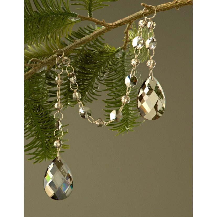 Sage & Co 21-inch Crystal Drop Christmas Ornament from th...