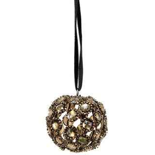 Sage & Co 1.5-inch Antique Gem Ball Christmas Ornament (Pack of 12)