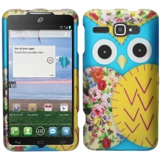 INSTEN Flowers Rubberized Hard Snap-On Phone Case Cover For Alcatel One Touch Snap LTE