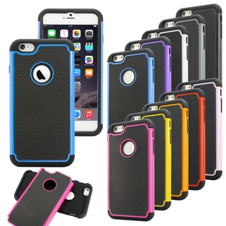 Gearonic Hybrid Silicone/ Rugged Hard Case for 5.5-inch Apple iPhone 6 Plus