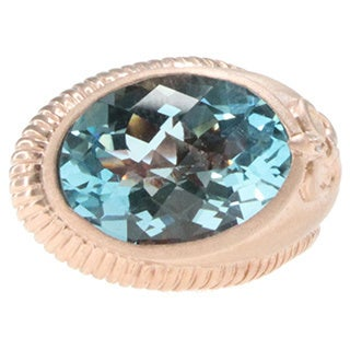 Dallas Prince Sky Blue Topaz Ring