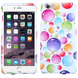 INSTEN Colorful Pattern Design Rubberized Hard Snap-On Phone Case Cover For Apple iPhone 6 Plus 5.5-inch