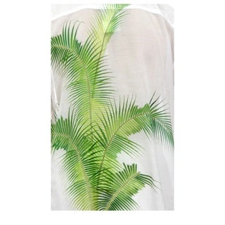 Handmade Men's Cotton 'Bali Palm' Shirt (Indonesia)