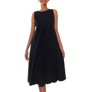 Cotton 'Cool in Black' Sundress (Indonesia)