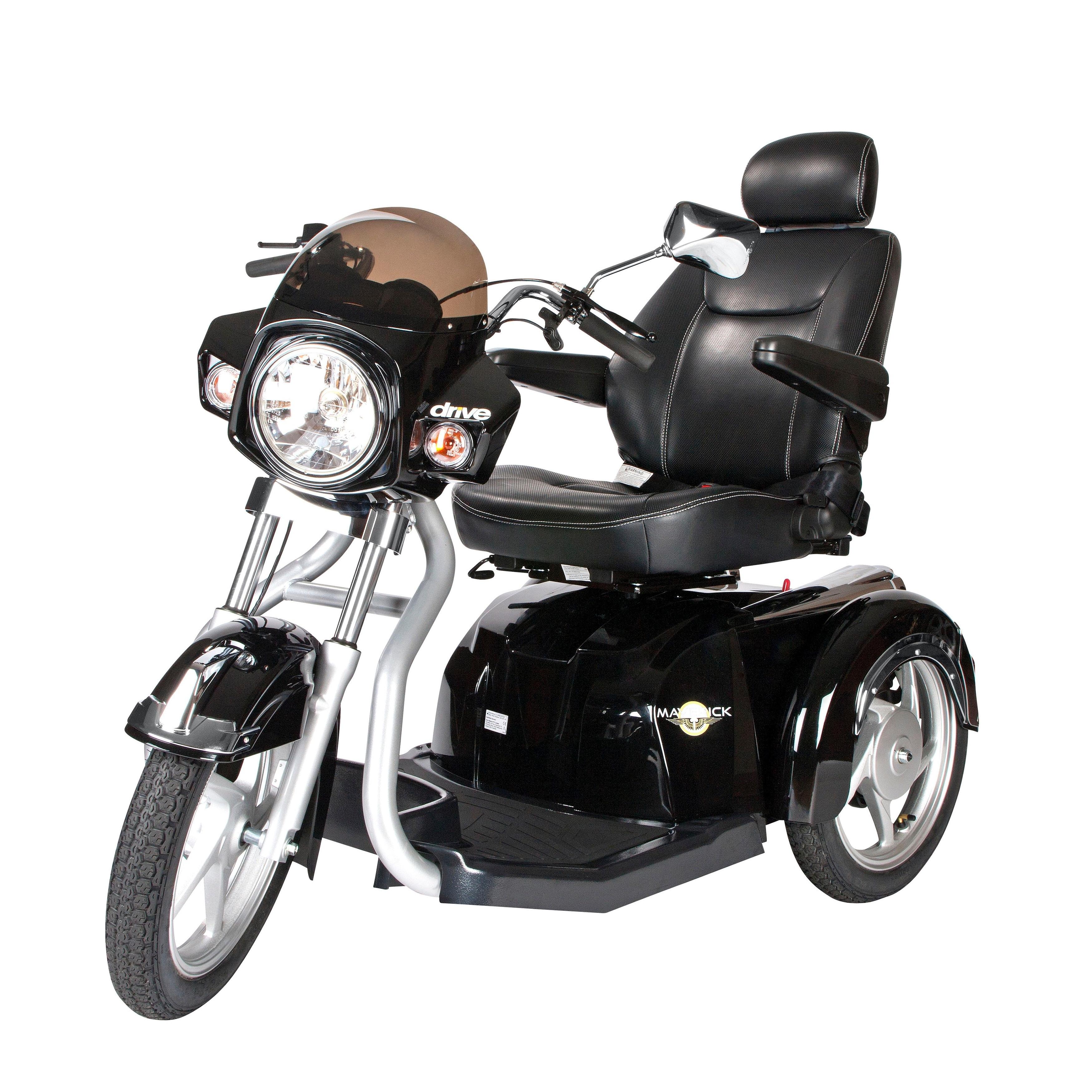 Drive Medical Maverick Executive 3-wheel Power Scooter (2...