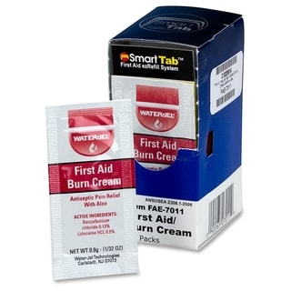 First Aid Only Burn Cream 10 Pack Box